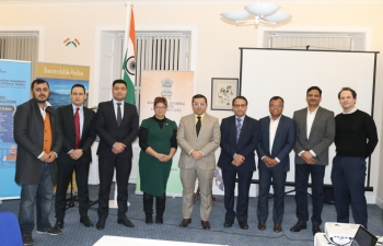 Consulate General of India conducted Regional India Business Forum Meeting in association with The CII, United Kingdom on 5 December 2019